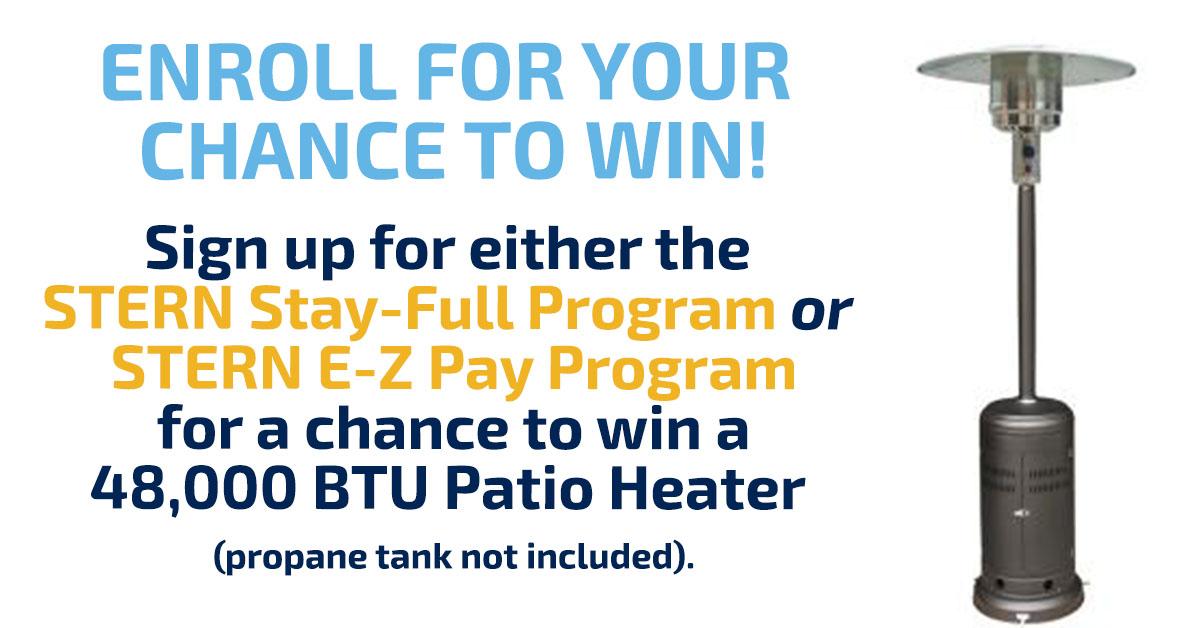 Patio Heater Promo